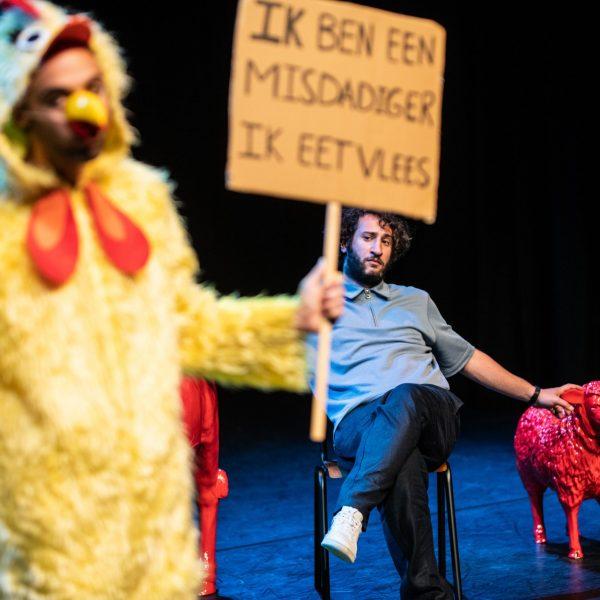 George & Eran worden veganisten - Bart Grietens-11