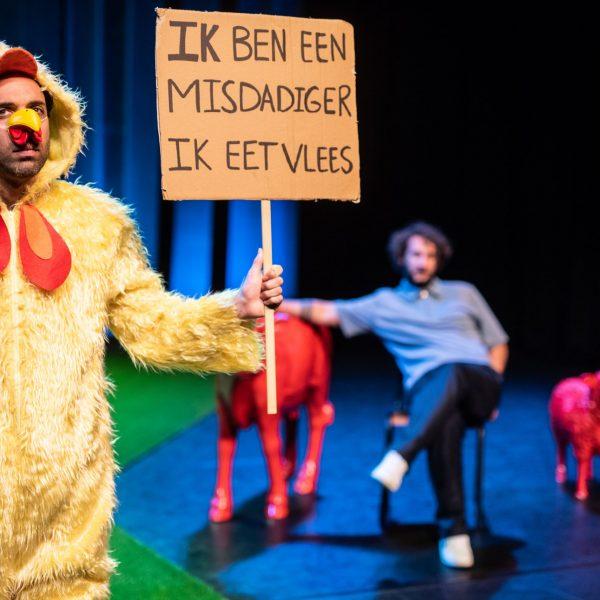 George & Eran worden veganisten - Bart Grietens-36
